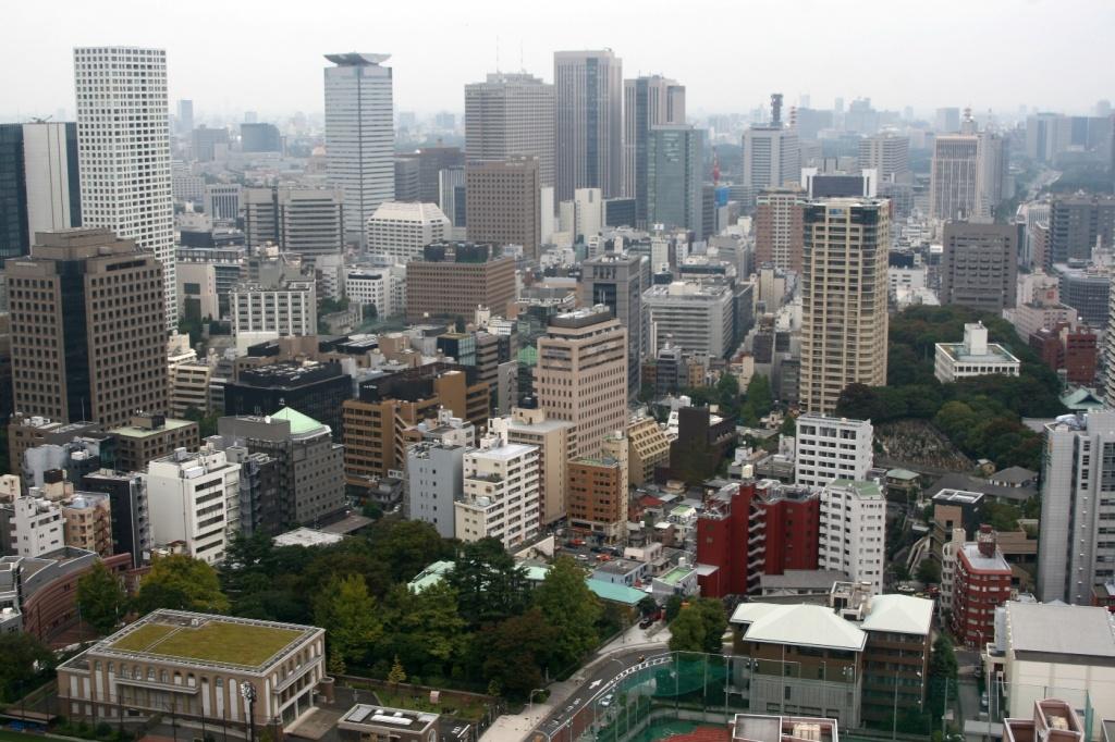 Вид на Токио с башни. Автор: jimgris. Фото:  www.flickr.com