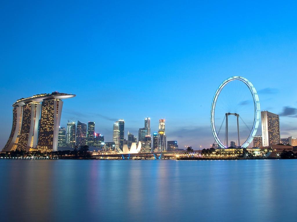 Сингапурское колесо обозрения. Автор: akosihub. Фото:  www.flickr.com