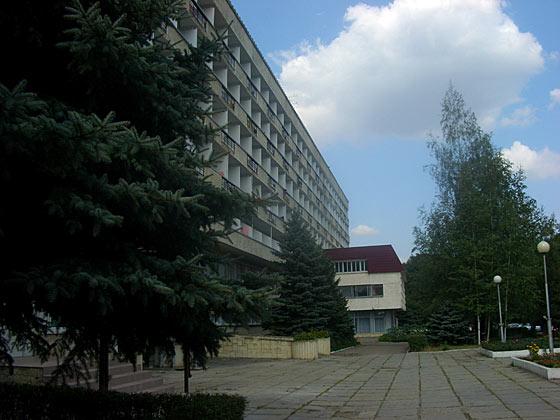 Корпус санатория «Машук». Фото: www.sanmashuk.ru