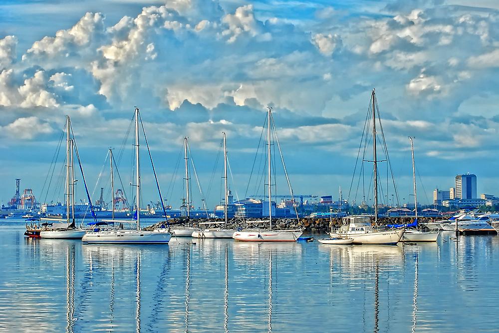 Бухта Манилы. Автор: Jhong Dizon. Фото:  www.flickr.com