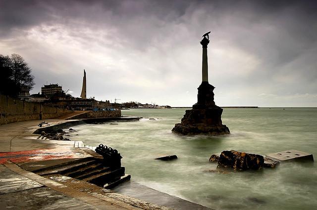 Пейзажи Севастополя. Фото с сайта  tonkosti.ru