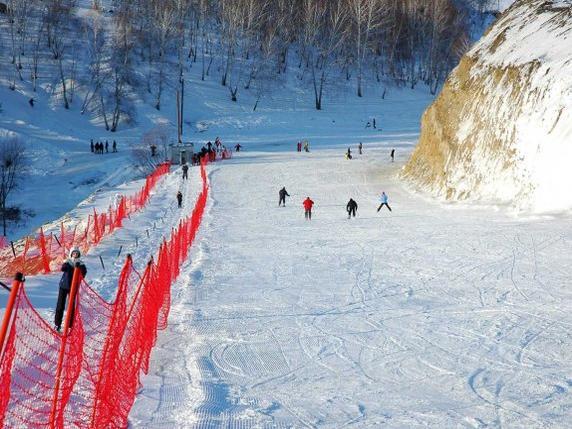 Вниз по склону. Фото: expark.millenium-omsk.ru