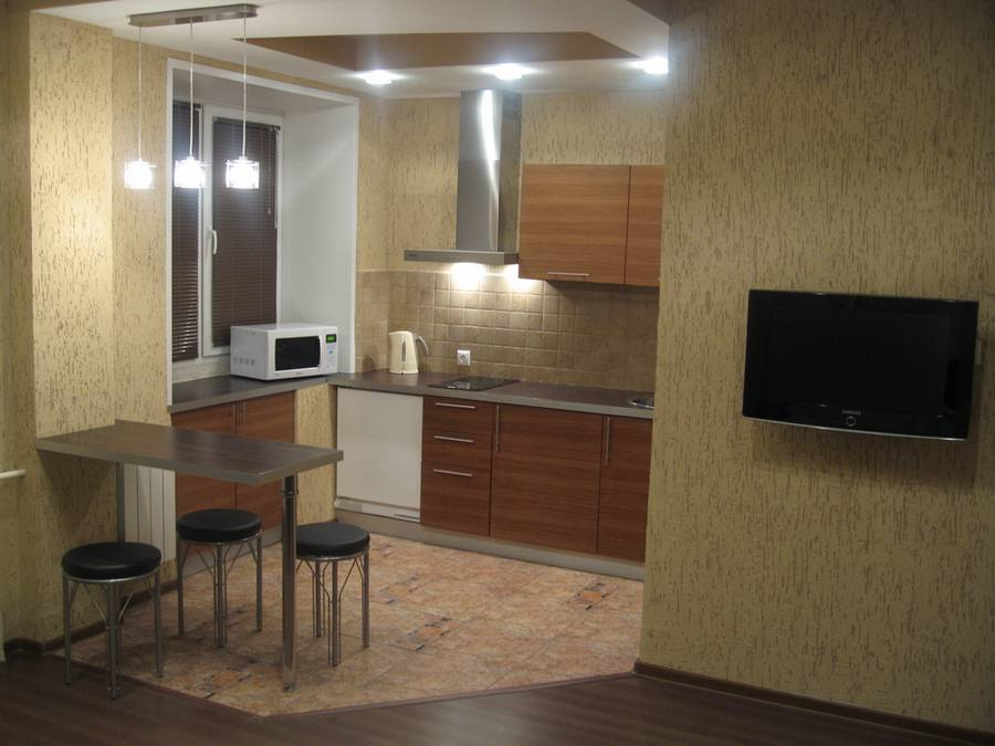 Апартаменты. Кухня. Фото: www.krashome.ru