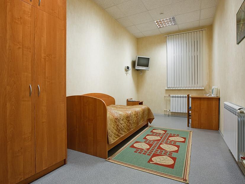Одноместный «Эконом». Фото: www.sporthotel.tomsk.ru