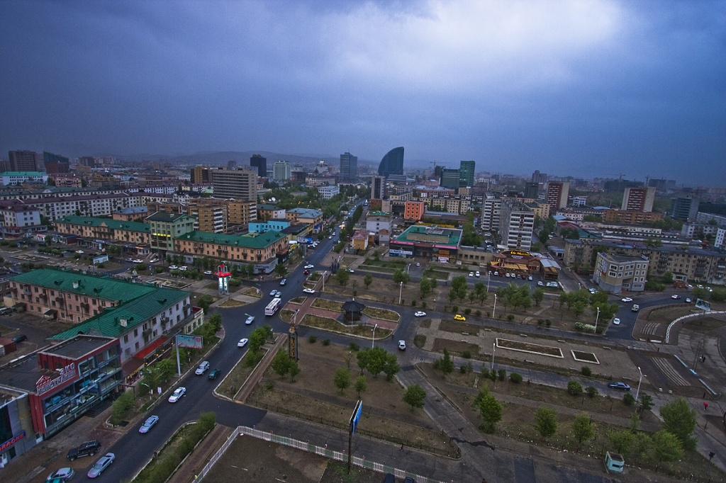 Улан-Батор, столица Манголии. Автор: Enkhtuvshin's 5DmkII. Фото:  www.flickr.com
