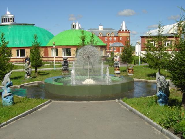 территория санатория Обуховский