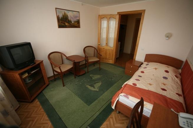 1-местный стандартный номер. Фото: tomskhotel.ru