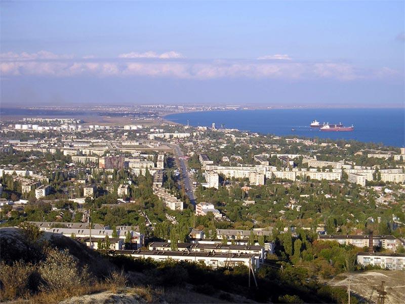 Панорама на город. Фото:  Отдыхающим в Крыму