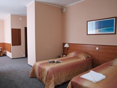 Двухместный номер. Фото: www.siberia-hotel.ru