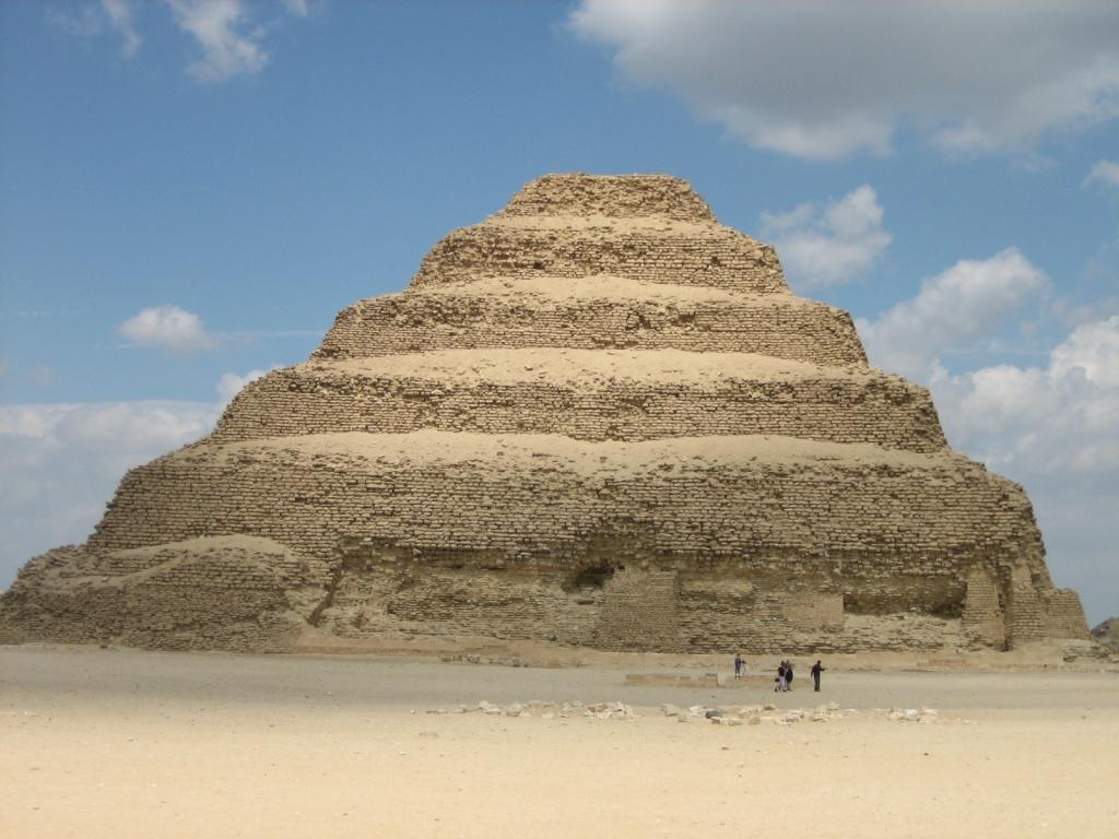 Пирамида Джосера. Автор: peifferc. Фото:  www.flickr.com