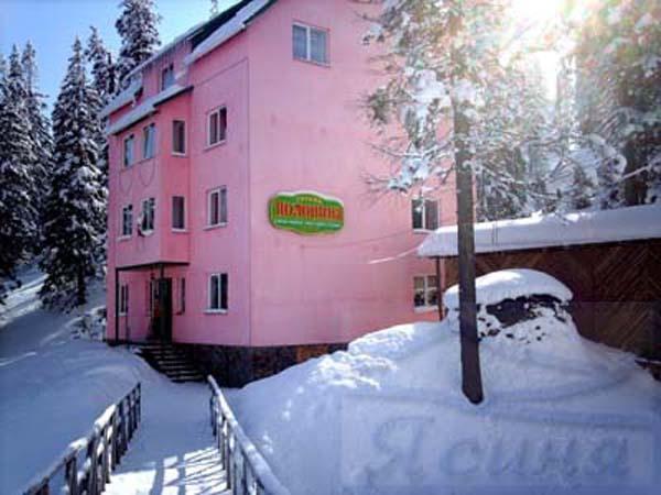 Отель «Полонина». Фото: www.polonina.dragobrat.info