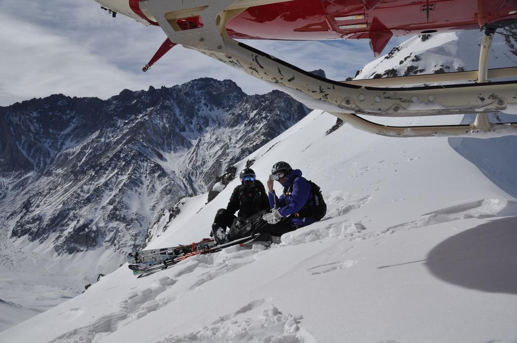 Хели-ски. Фото:  Alex Grechman