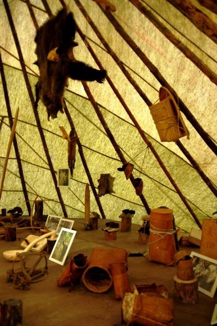 Музей манси, охота