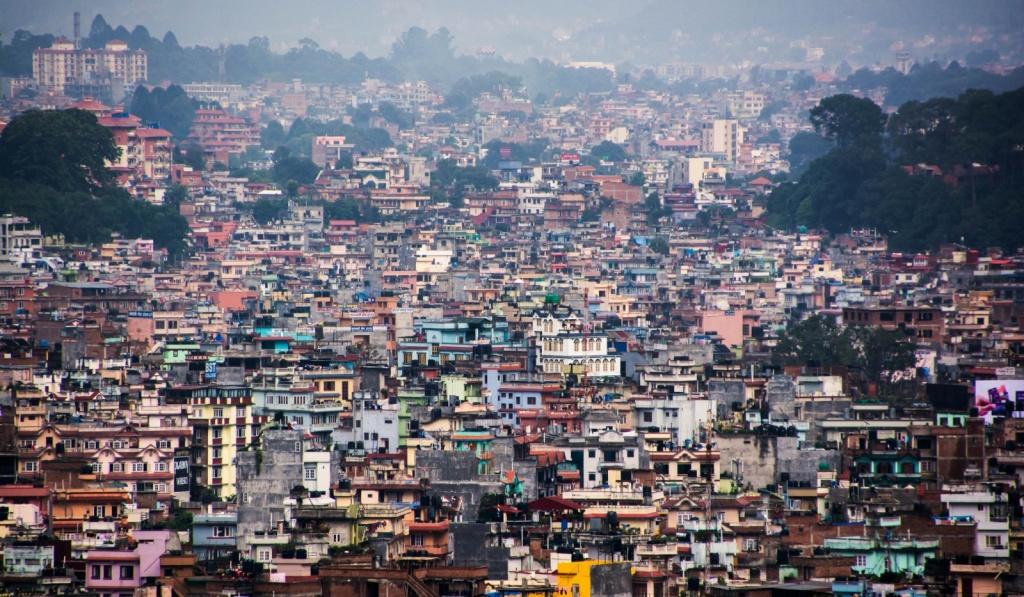 Столица Непала - Катманду. Автор: Sharada Prasad. Фото:  www.flickr.com