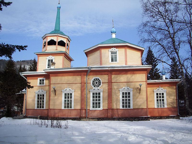 Свято-Никольская церковь  Фото:   tonkosti.ru