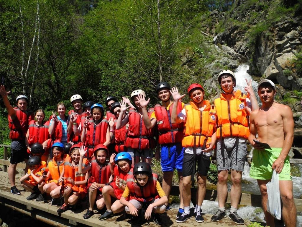 На Камышлинском водопаде