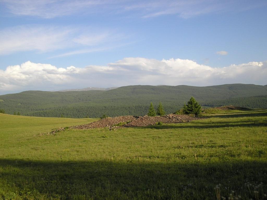 Пазырыкские курганы. Автор: Obakeneko. Фото:  www.flickr.com