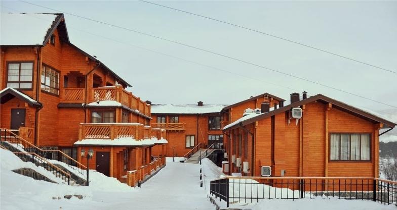 Жилые корпуса отеля. Фото: www.aldego.ru