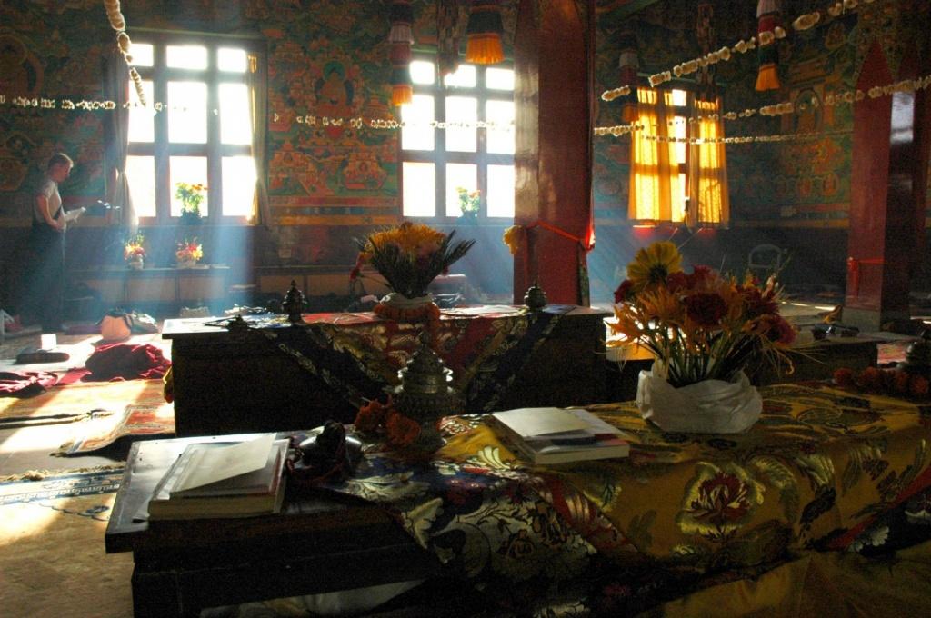 В тибетском монастыре. Автор: Wonderlane. Фото:  www.flickr.com
