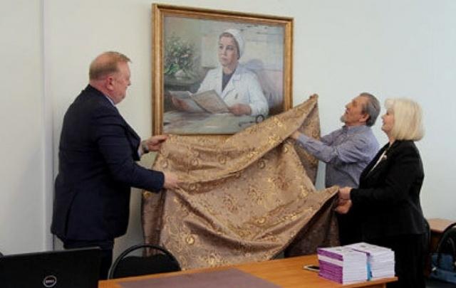 В Первой городской больнице открыли аудиторию имени знаменитого архангельского кардиолога