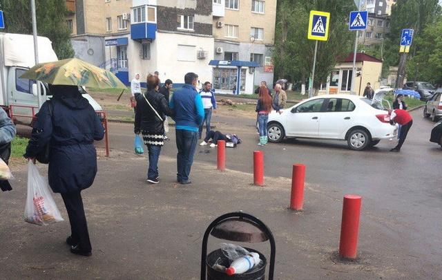 В Волгограде сбили пенсионерку на пешеходном переходе