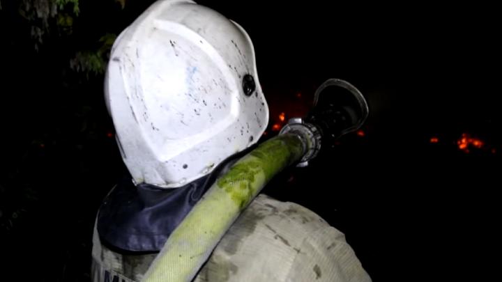 Как горела Волгоградская область: пожарные опубликовали видео
