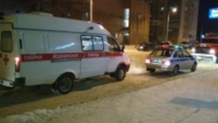За ночь на улице Луначарского в Рыбинске произошло два ДТП с пострадавшими