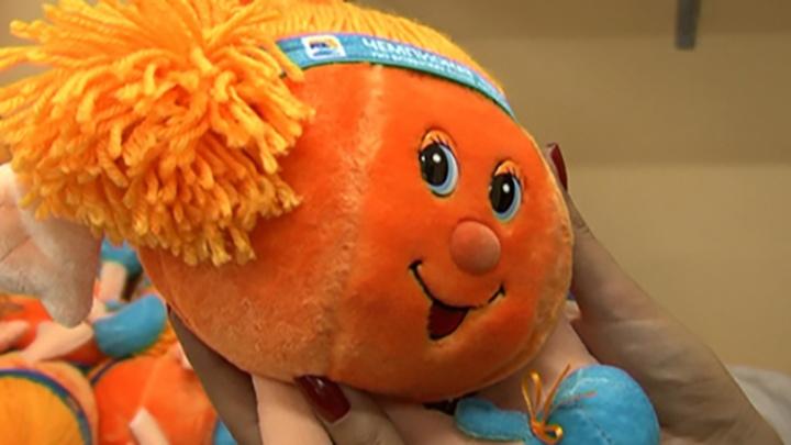 Девочка-мячик – на замену: в Челябинске выбрали символ Кубка по водному поло
