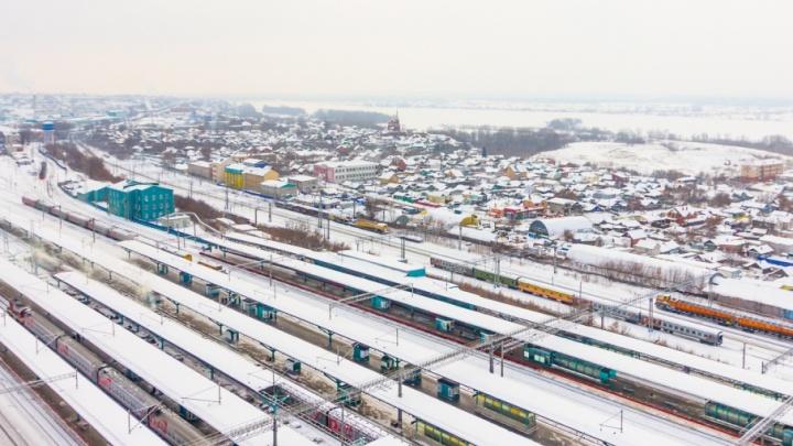 В Самарской области электропоезд протаранил «Ладу-Калину», есть погибшие