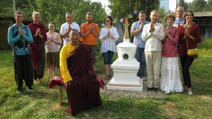 У ярославских буддистов появилась своя святыня