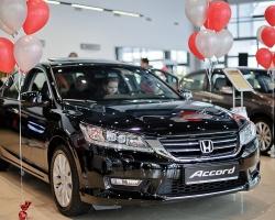 Новый Honda Accord уже в Тюмени