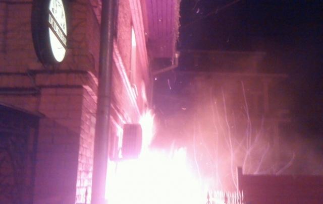 После пожара в ярославском баре продолжилась вечеринка