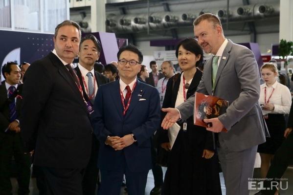Главные зарубежные гости на Иннопроме – японцы.