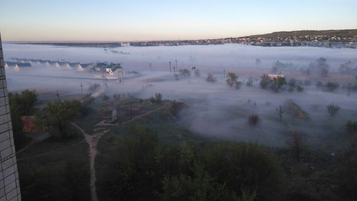 Юг Волгограда вновь накрыло волной едкого дыма