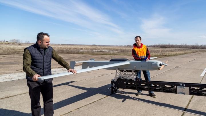 Летает без GPS: в Самаре создали беспилотник с «техническим зрением»