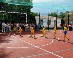 Спортивное открытие Донского педколледжа
