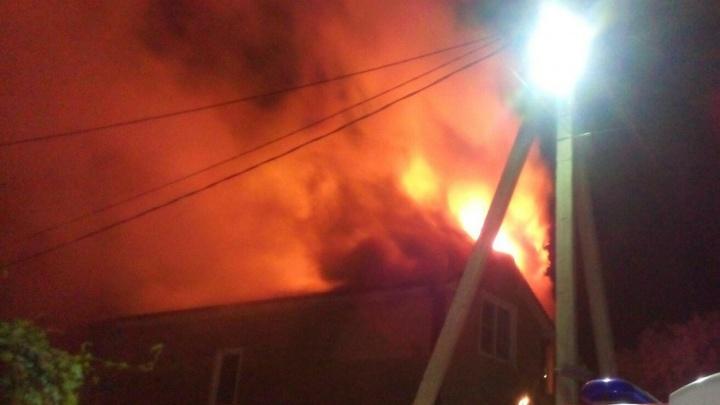 В ростовском садовом товариществе при пожаре погибла женщина