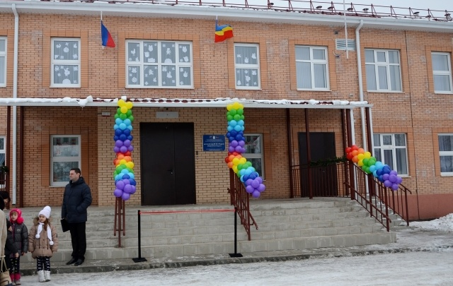 В поселке Рассвет открыли новый детский сад