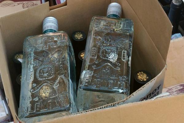 Полиция за неделю изъяла из оборота более 21,7 тысячи литров нелегального алкоголя