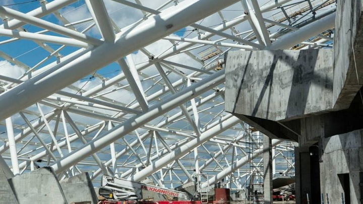 Купол стадиона «Самара Арена» будет белоснежным