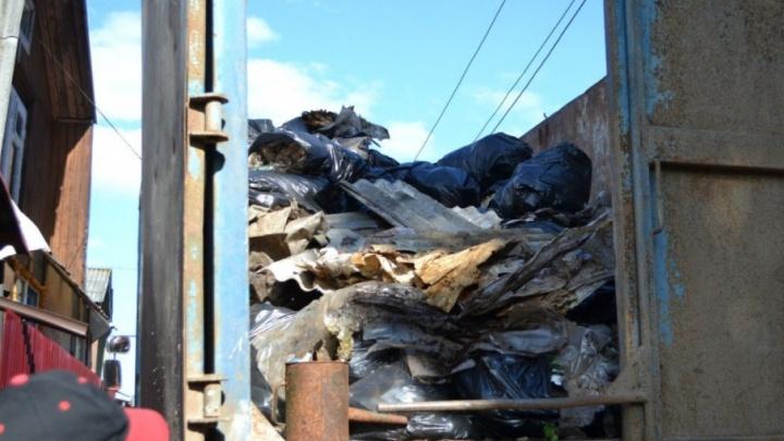 Участники пермского экофестиваля «Лесной воробей» собрали шесть тонн мусора