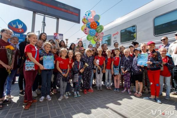 Юные танцовщицы вернулись в Волгоград с победой