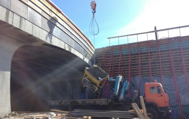 Строительство нижнего яруса тоннеля на развязке Кирова/Московское завершат в конце апреля