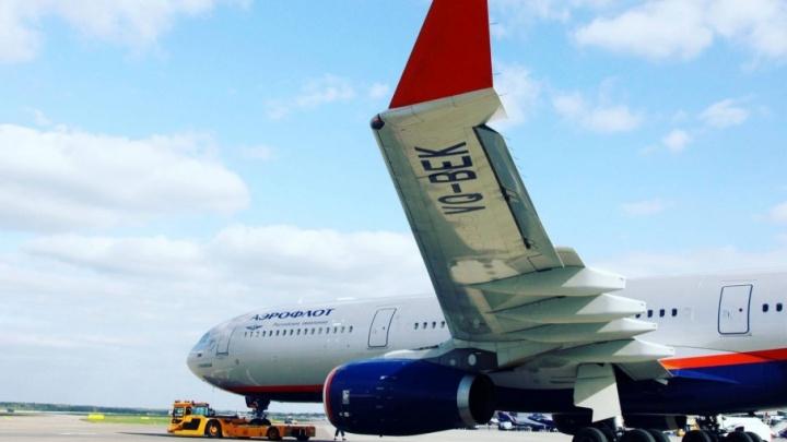 Самолёт «Аэрофлота», летевший из Сургута в Москву, совершил экстренную посадку из-за поломки