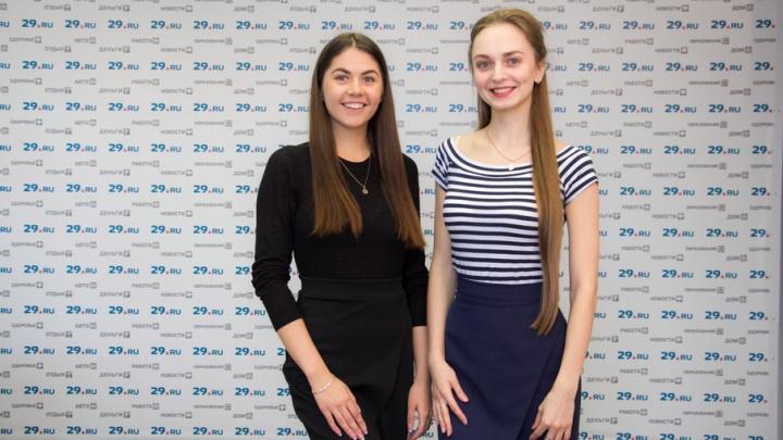 «Нервы на пределе»: две «Красы Арктики» рассказали о конкурсе, студенчестве и проблемах Поморья
