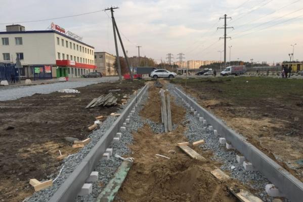 Длина нового тротуара составит 401 метр