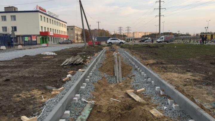 Для жителей ЖК «Плеханово» начали строить обещанный тротуар