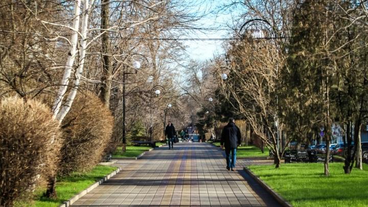 Выходные в Ростове будут по-весеннему теплыми