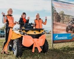 Сеть АЗС «Газпромнефть» дарит квадроциклы