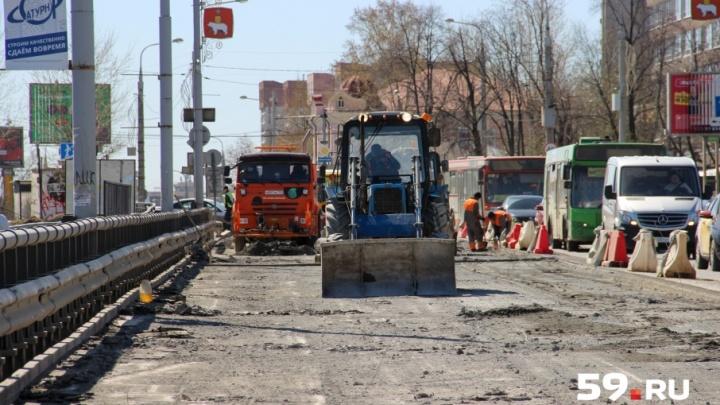 «Зеленая волна» и реверс: как предлагают ускорить проезд по ремонтируемому Коммунальному мосту